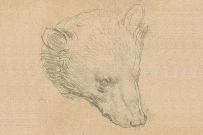 Pequeno desenho de Da Vinci foi leiloada nesta quinta-feira, mas não bateu recorde
