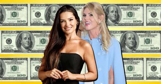 A rica e a ricaça: Juliette é milionária, mas ainda não faz parte do clube dos muito ricos, como Val Marchiori