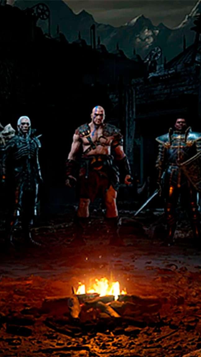 Personagens jogáveis de Diablo II