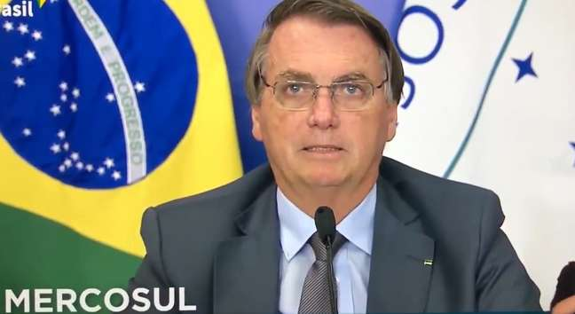 Bolsonaro deixou claro que a prioridade de flexibilização as regras do bloco