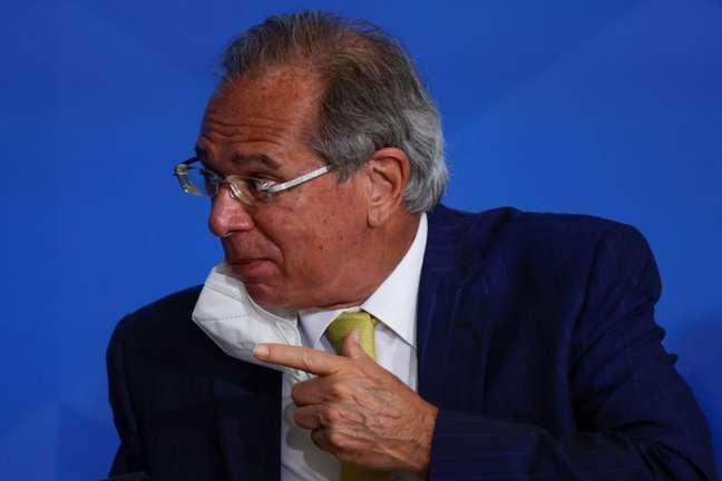 Ministro da Economia Paulo Guedes em Brasília 22/06/2021 REUTERS/Ueslei Marcelino