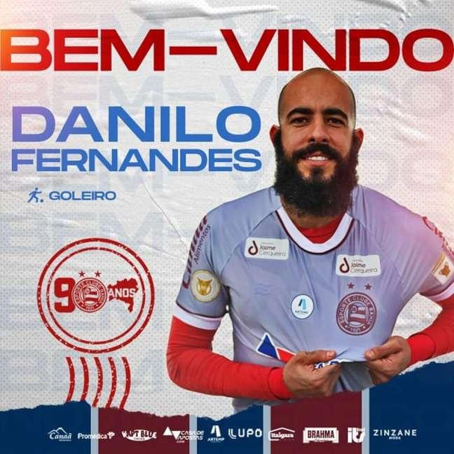 Goleiro é formado na base do Corinthians (Divulgação/EC Bahia)
