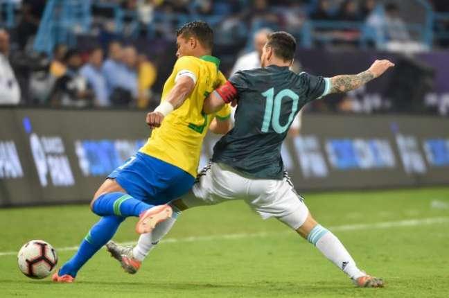 Brasil e Argentina decidem a Copa América 2021 (Foto: Fayez Nureldine / AFP)