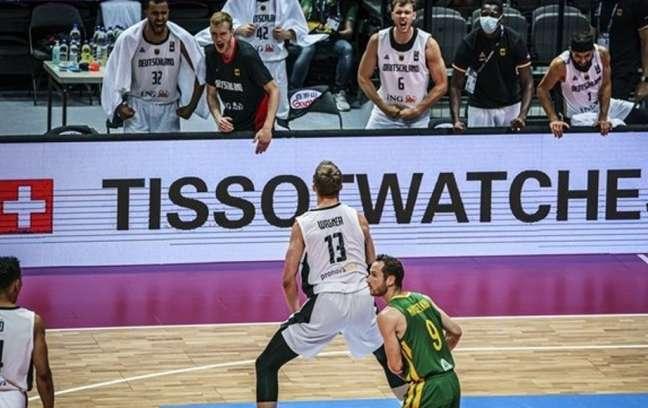 A Seleção Brasileira de basquete masculino ficou de fora da Olimpíada de Tóquio após perder para a Alemanha (Divulgação/FIBA)