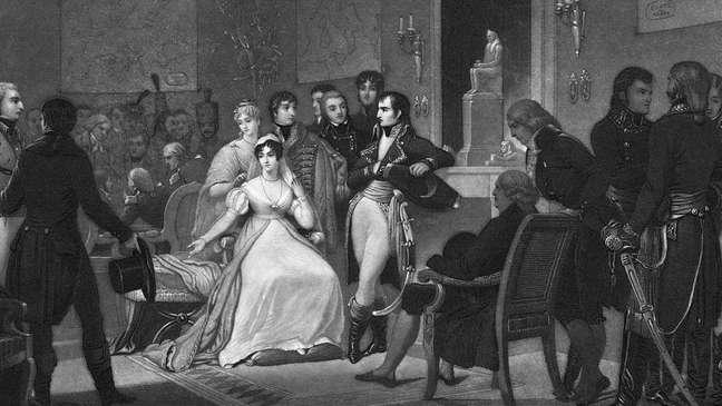 Napoleão Bonaparte tornou-se imperador em 28 de maio de 1804
