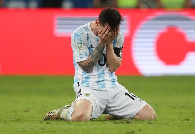 Argentina vence o Brasil e é campeã da Copa América