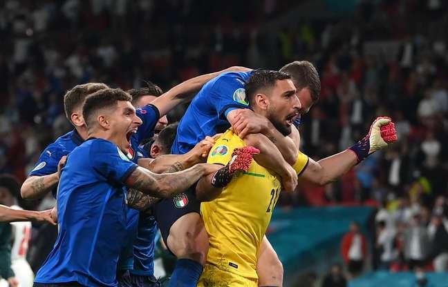 Nos pênaltis, Itália vence a Inglaterra na final da Eurocopa