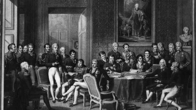 Talleyrand foi o representante da França no Congresso de Viena fazendo uma 'gestão magnífica', segundo Roca-Ferrer