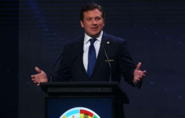 Conmebol restringiu o torneio aos dez países da América do Sul (Foto: CLAUDIO REYES / AFP)