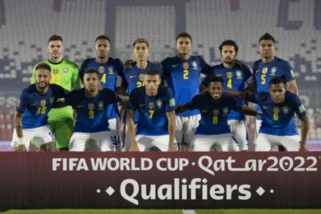 Grupo criticou organização da competição, mas disse que iria disputar a Copa América (Foto: Lucas Figueiredo/CBF)
