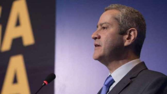 Rogério Caboclo foi afastado pela Comissão de Ética da CBF (Foto: Lucas Figueiredo/CBF