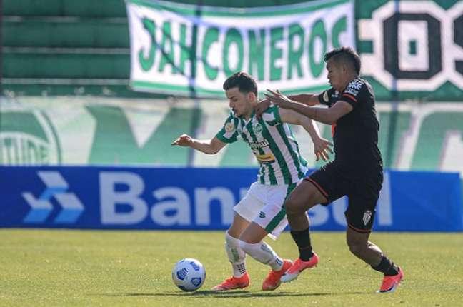 Gol no último minuto definiu o empate no Alfredo Jaconi (Foto: Divulgação/Fernando Alves/Juventude)