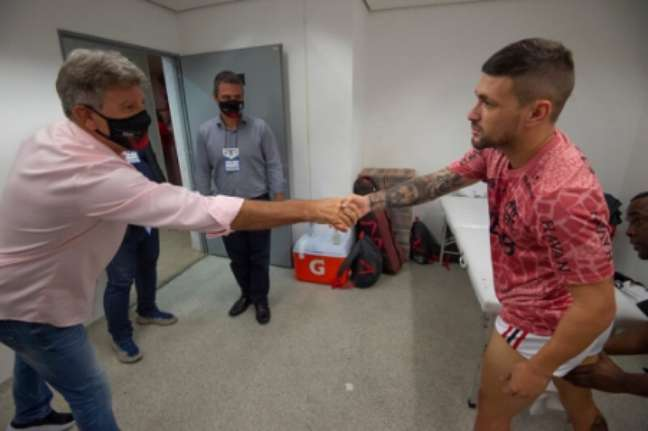 Renato é o novo técnico do Flamengo (Foto: Alexandre Vidal)