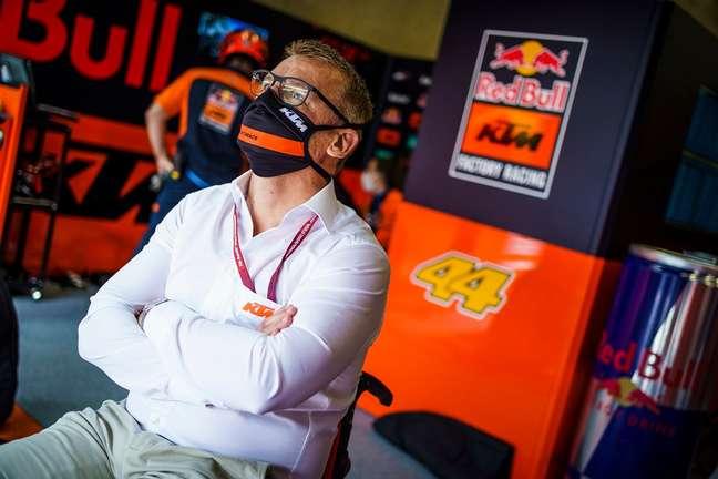 Pit Beirer destacou a importância dos pilotos na melhora da KTM em 2021