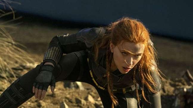 "Scarlett Johansson em cena de ""Viúva Negra"""