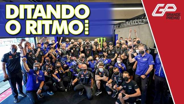 MotoGP 2021 GP às 10 Yamaha