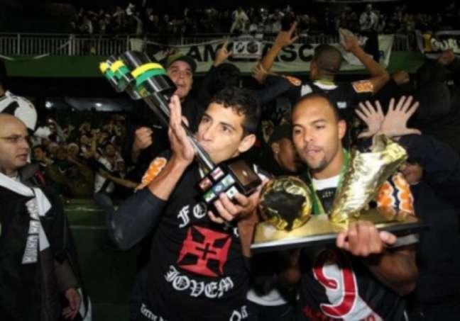 Vasco foi campeão da Copa do Brasil em 2011 (FOTO: CLEBER MENDES)