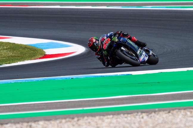 Fabio Quartararo entrou de férias com folga na liderança da MotoGP