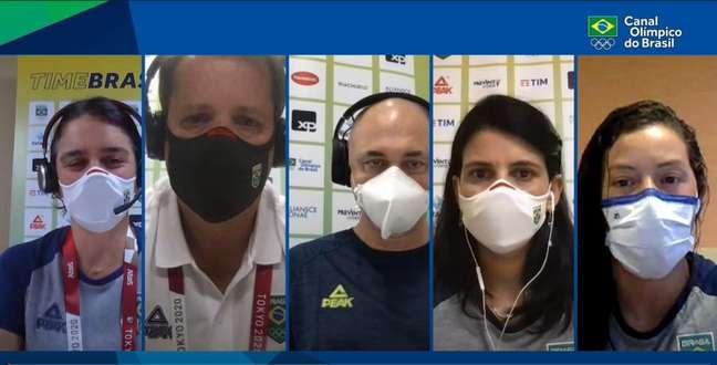 Jogadores olímpicos representarão o Brasil em Tóquio Divulgação/COB
