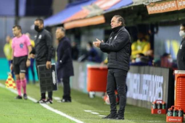 Cuca rechaçou que o Galo não foi a Buenos Aires tentar a vitória sobre o Boca-(Pedro Souza/Atlético-Mg)