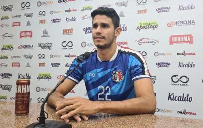 Atleta de 27 anos é formado no Atlético-GO (Ascom/Santa Cruz)