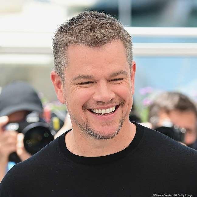 """Matt Damon chorou ao final da sessão de """"Stillwater"""", exibido fora de competição"""