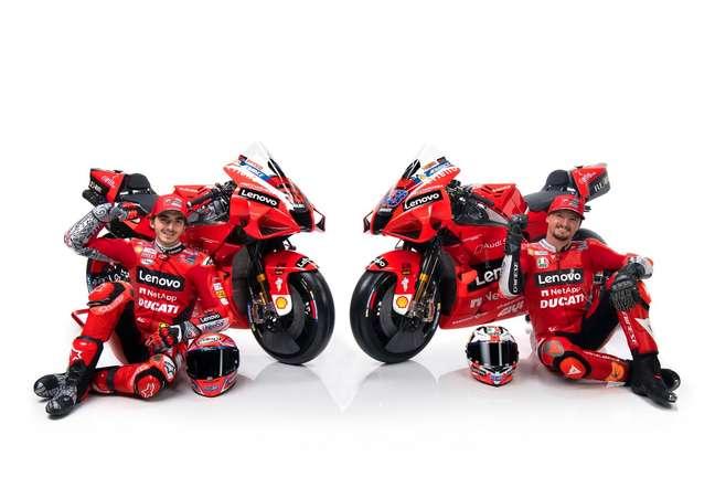 Miller e Bagnaia trouxeram frescor para a Ducati