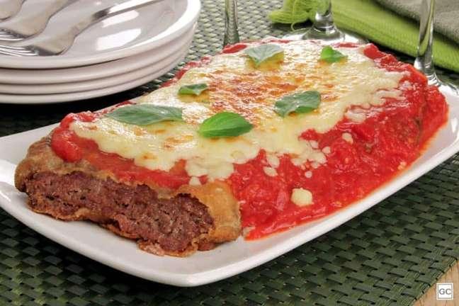 Guia da Cozinha - Receita de parmegiana de carne moída