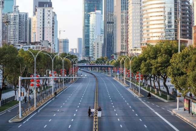 Wuhan foi o primeiro local em que um surto da covid-19 foi registrado