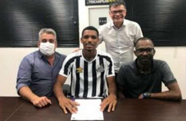 Gabriel Passos é o novo reforço do Santos para a equipe Sub-20 (Foto: Divulgação)
