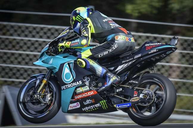 Valentino Rossi é um dos pilotos da SRT em 2021