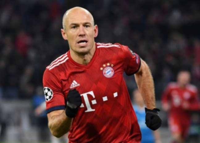 Robben fez história com camisa do Bayern (Foto: AFP)