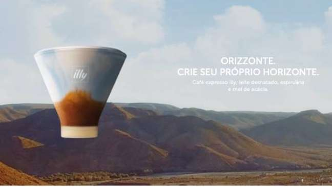 Novo drink 'Orizzonte', criado pela illycaffè