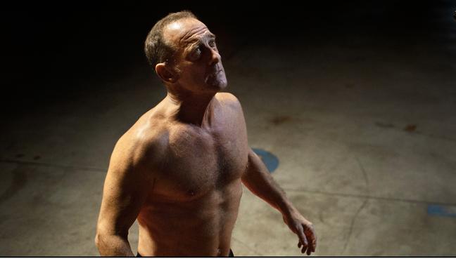 Vincent Lindon em cena do filme para o qual teve de se preparar fisicamente por meses