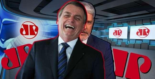 O presidente poderá ter o apoio de uma emissora de TV para contrapor o antibolsonarismo da Globo de Bonner