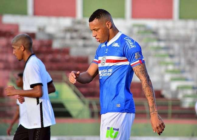 Dudu em ação pelo Bahia no Campeonato Brasileiro de Aspirantes (Foto: Marcelo Oliveira)