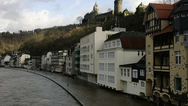 Altena em foto antiga; inundações já aconteceram antes no verão, mas não como em 2021, segundo moradora brasileira
