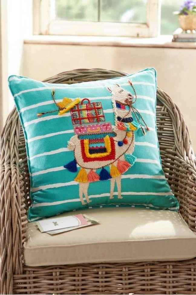 19. Tecido para almofada personalizada – Foto Soft Surrounding