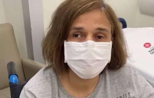 Claudia Rodrigues está internada desde a semana passada