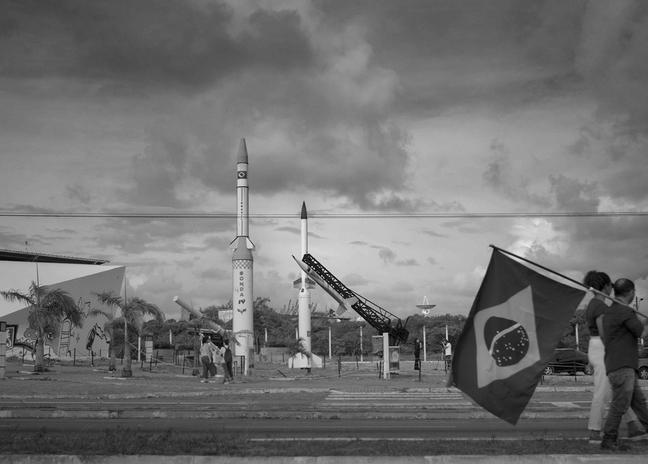 """""""Sideral"""" se passa em um futuro em que o primeiro foguete tripulado brasileiro vai ser lançado da base de Natal"""