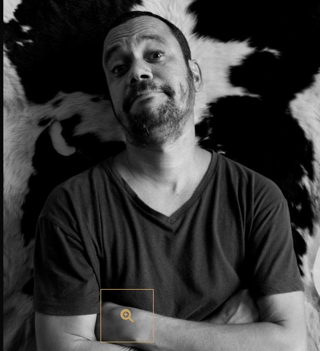 """Carlos Segundo, que leva """"Sideral"""" a Cannes neste ano"""