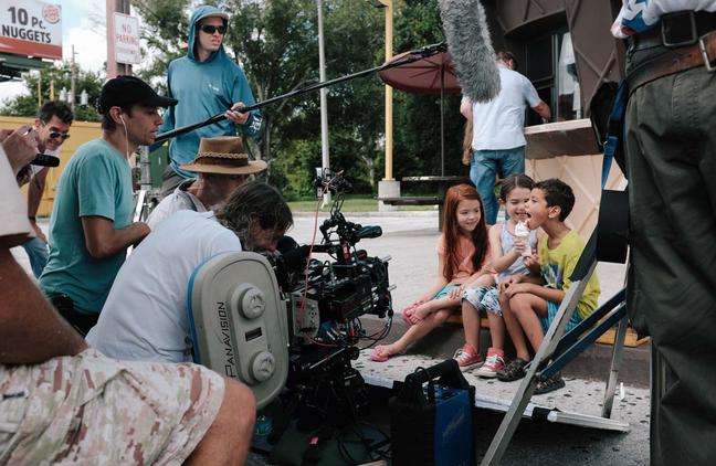 """Sean Baker dirige as crianças do elenco de """"Projeto Flórida"""""""