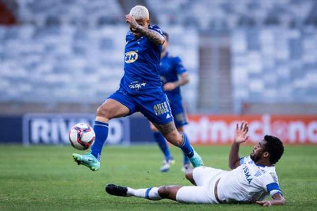 O Cruzeiro teve outra partida sem brilho jogando no Mineirão diante do Avaí-(Bruno Haddad/Cruzeiro)