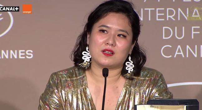 Tang Yi,  diretora deTian Xia Wu Ya ( All the Crows in the World), que levou a Palma de Ouro de Melhor Curta