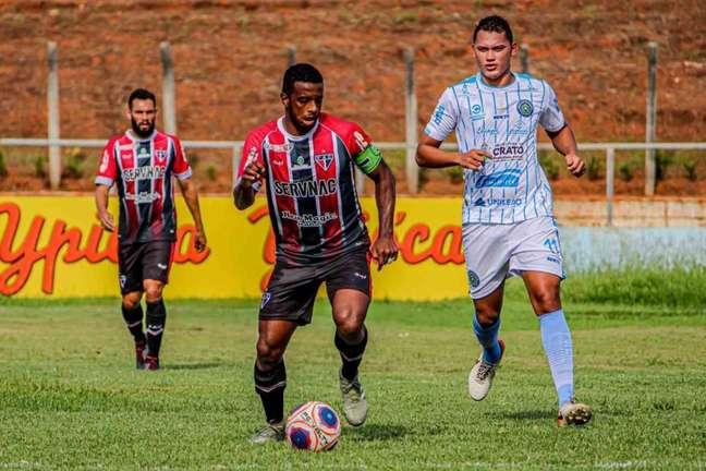 O Tubarão da Barra lidera o Grupo A da Série C do Brasileirão (Foto: Divulgação / Ferroviário)
