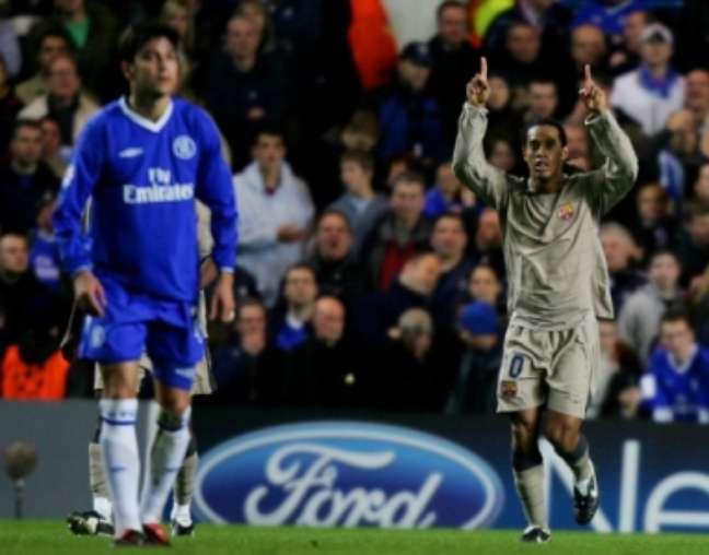 Ronaldinho marcou época no Barcelona (AFP)