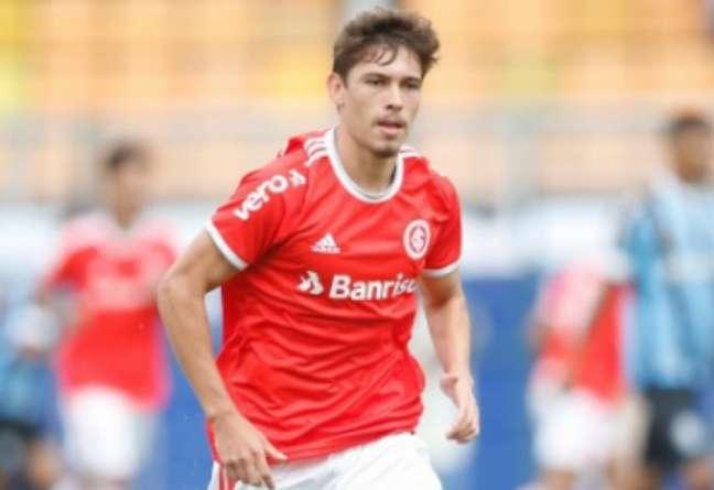 Jogador foi campeão da Copinha pelo clube em 2020 (Ricardo Duarte/Internacional)