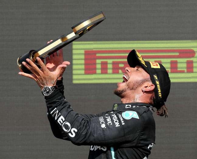 Lewis Hamilton venceu o GP de Silverstone