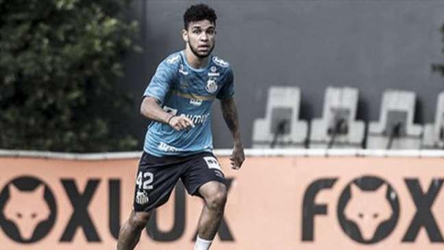 Moraes deve ficar de sete a dez dias afastado dos gramados (Foto: Ivan Storti/Santos)