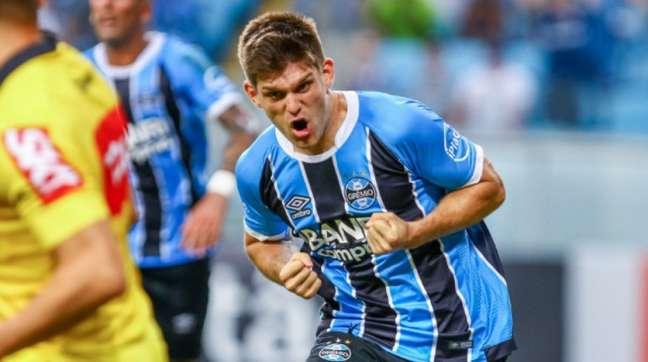 Argentino tem mais de 200 jogos com o Tricolor (Lucas Uebel/Grêmio FBPA)